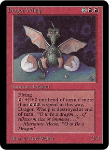 mtg dragon welp