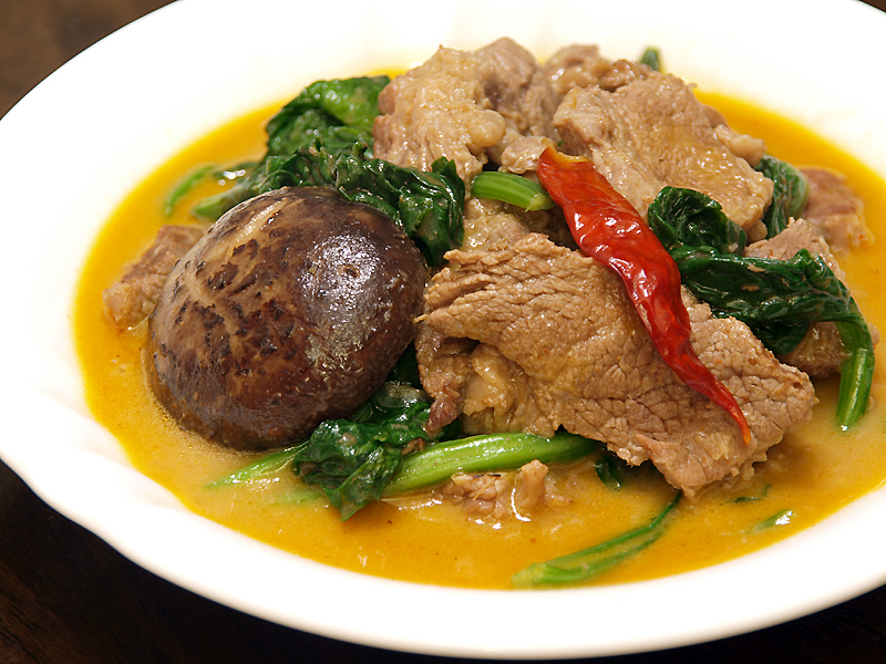 Thai Red Beef Curry - Ang Sarap