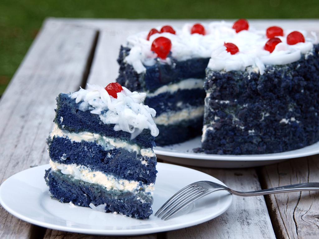 Yam Sponge Cake Recipe