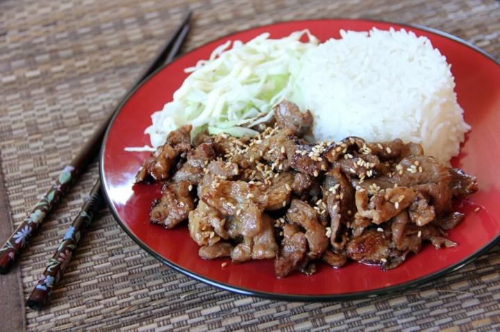 Japanese Ginger Pork (Shogayaki)