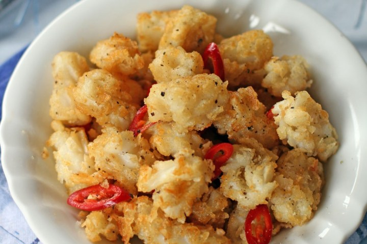 Salt and Pepper Squid Wide