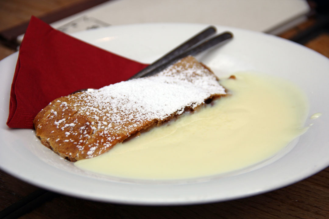 ... strudel it is their most famous pastry. Strudel pastry filled with