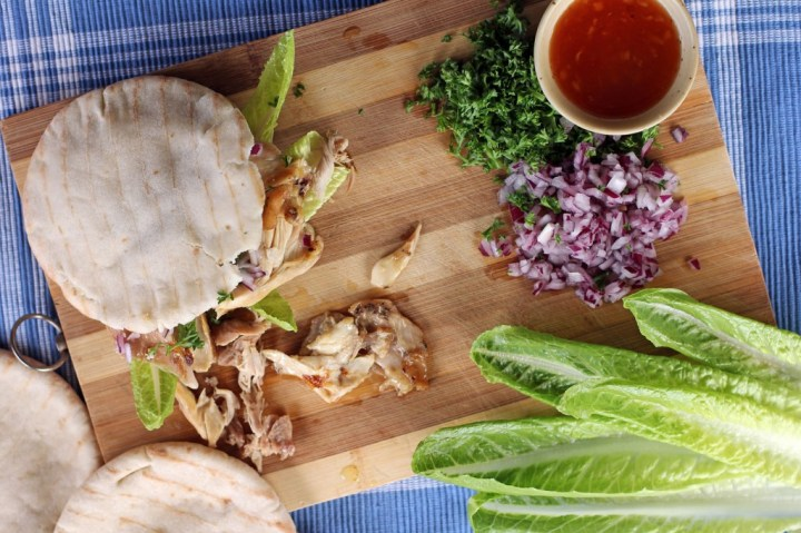 Roast Chicken Pita Pocket
