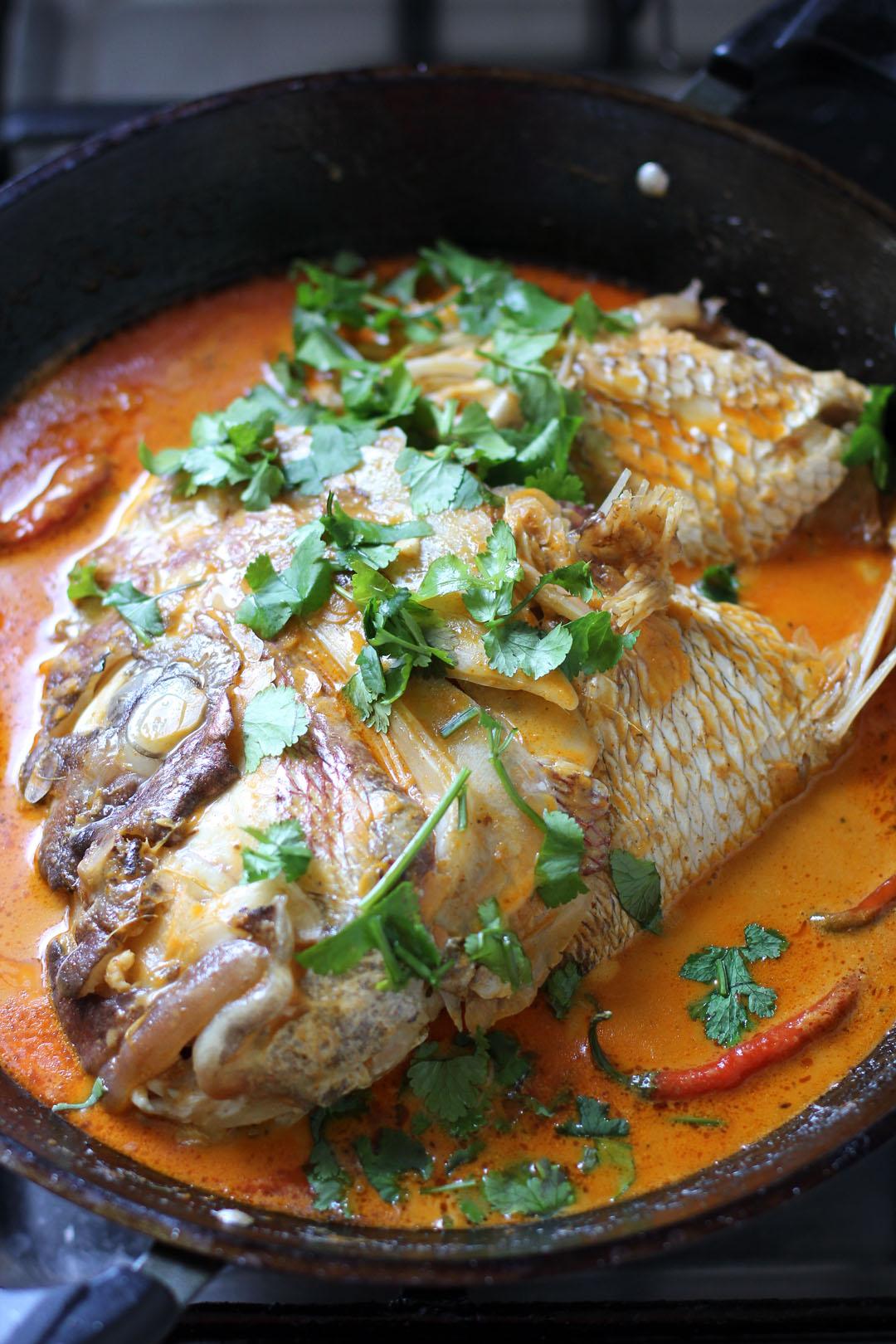 Fish Head Curry - Ang Sarap