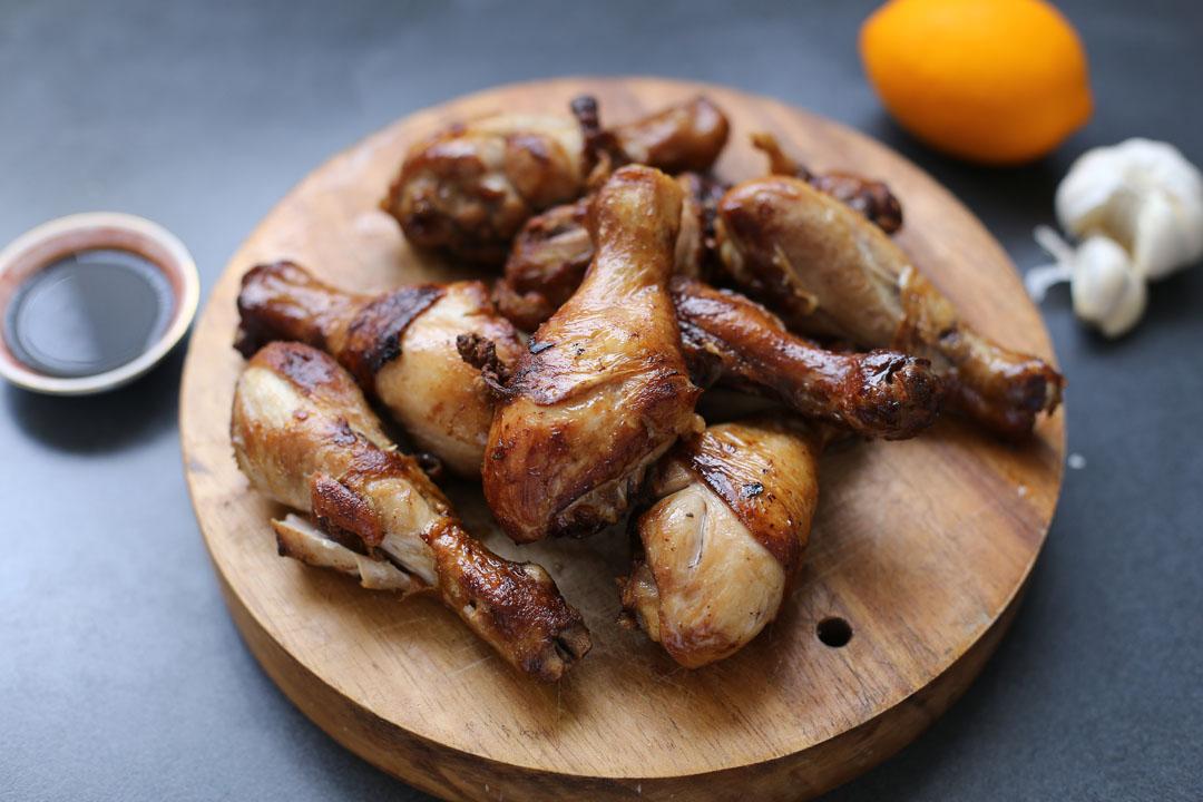 how to make soy garlic chicken