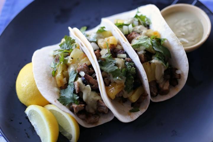 Tacos al Pastor Wide