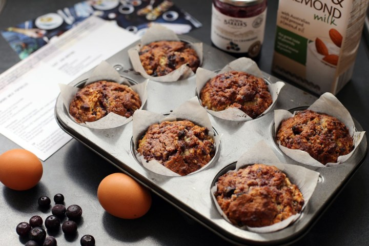 Easy Jam Muffins Wide