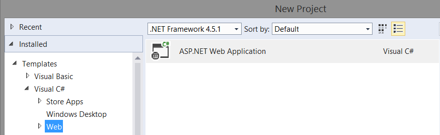 Your First Angular Project in Visual Studio   Angular First