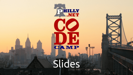 Philly.NET Code Camp Header
