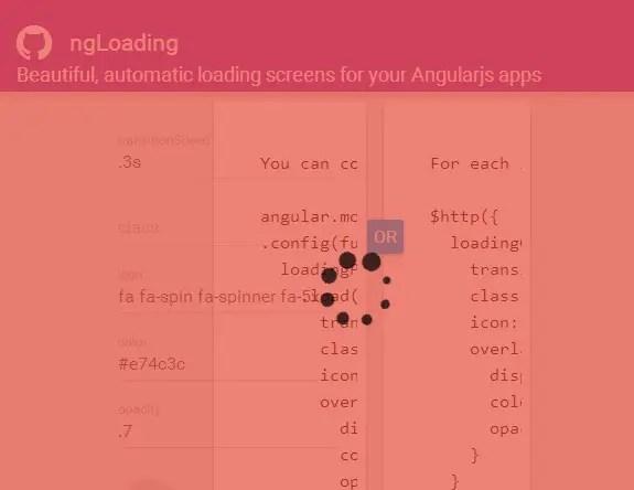 ng-loading custom overlay