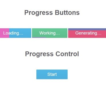 Buttons with Built-in Progress Bars For AngularJS