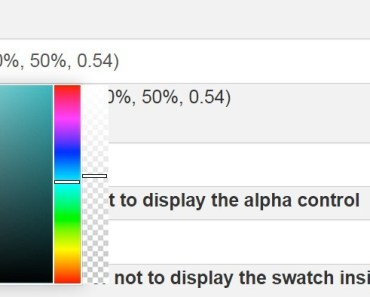 Multi-format Color Picker Directive For AngularJS