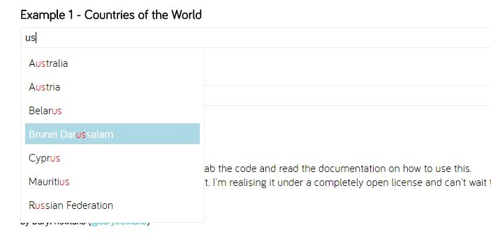 Easy AngularJS Directive For Autocomplete Boxes