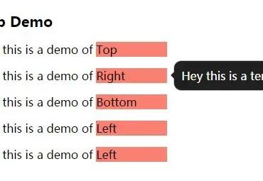 ltTooltip Right Demo