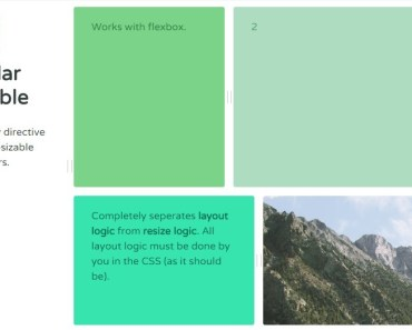 AngularJS Directive For Resizable Containers