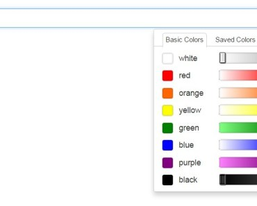 AngularJS Directive For Pick-a-color jQuery Plugin