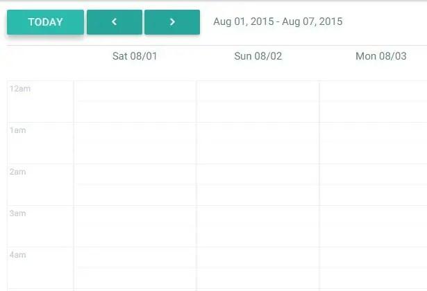 Angular Calendar.Material Design Angular Calendar Directive Angular Script