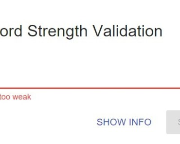AngularJS Directive For Password Strength Validation