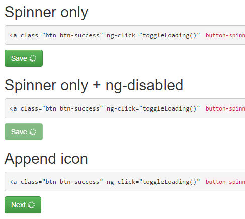 Simple AngularJS Button Spinner Directive