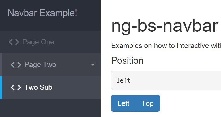 Ultimate Bootstrap Navbar With AngularJS | Angular Script