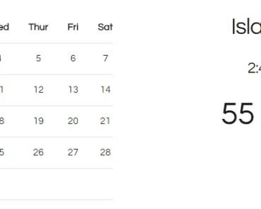 Weather and Calendar with AngularJS and Yahoo API