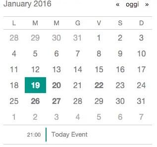 AngularJS Tiny Calendar Directive