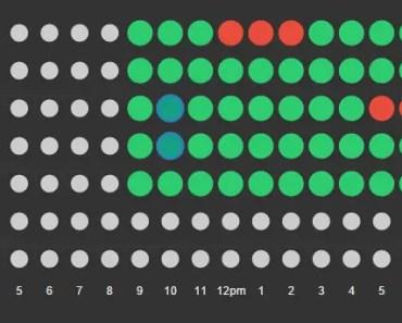 Availability Calendar With Angular and Raphael.js