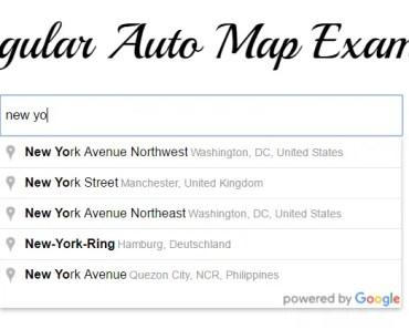 AngularAutoMap