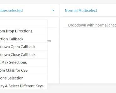 Customizable Multi Select Dropdown In Angular