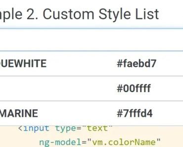 Simple Customizable AngularJS Auto Complete Plugin
