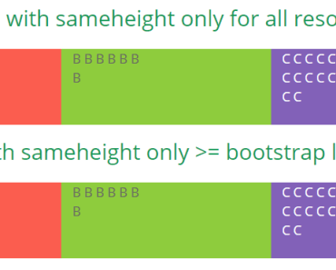 Angular Same Height Directive