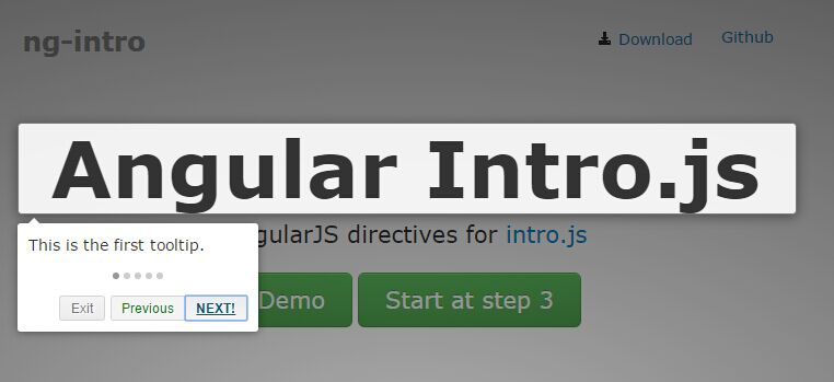 AngularJS Directives For Intro js Library | Angular Script