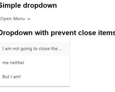 Angular 2 Material-like Dropdown Component
