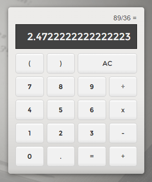 Angular2 Powered Typescript Calculator