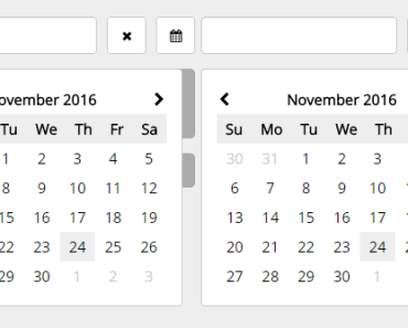 Angular 2 IO DatePicker Component