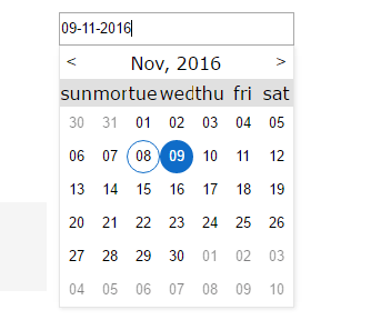 Highly Configurable Date Picker For Angular 2
