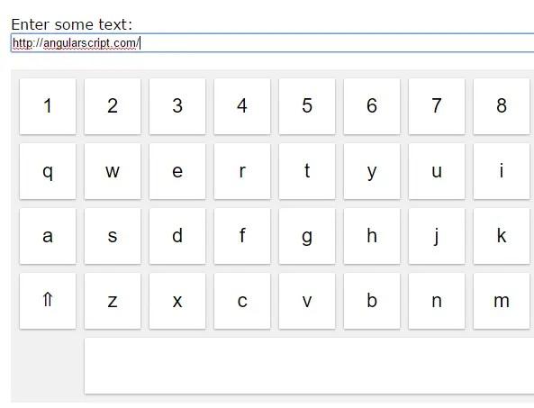 Angular On Screen Virtual Keyboard Directive | Angular Script