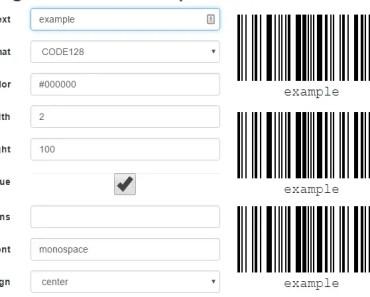 AngularJS Barcode Generation Directive