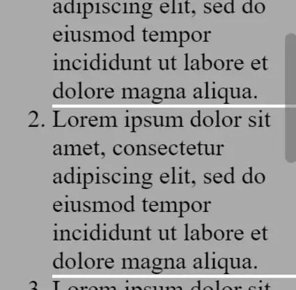 Vertical Angular Scrollbar Directive
