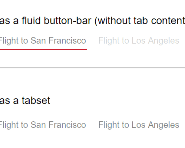 Angular Fluid Buttonbar Directive