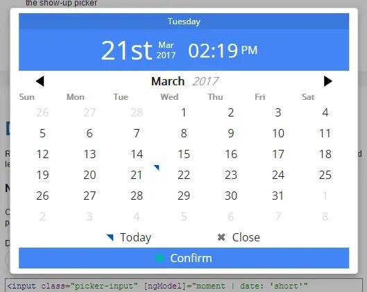 Angular 2 date