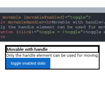Angular 2 Movable Directive