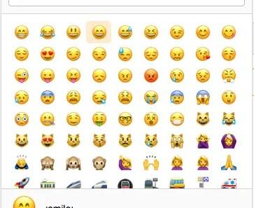 Angular Unicode Emoticons