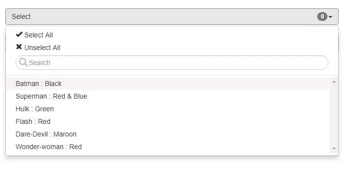 Angular Dropdown With Multi-select   Angular Script