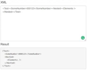 Angular Pretty XML Module