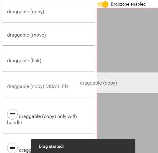 Angular 2+ Drag & Drop Directives