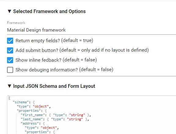 Angular 4 JSON Schema Form Generator | Angular Script