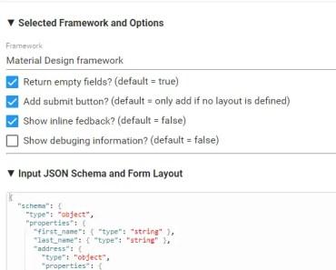 Angular 4 JSON Schema Form Generator