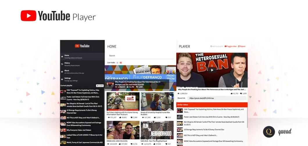 AngularJS 2+ Youtube Player
