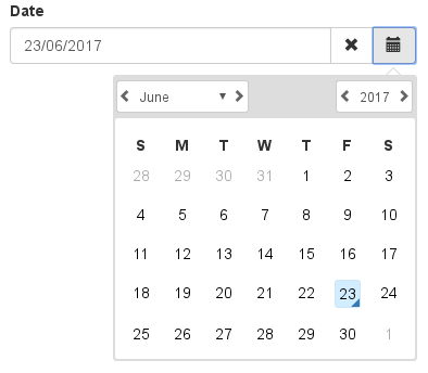 Angular Datepicker With Bootstrap Integration